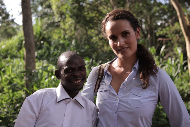 Mary-Ann and John Ssebunya in Uganda